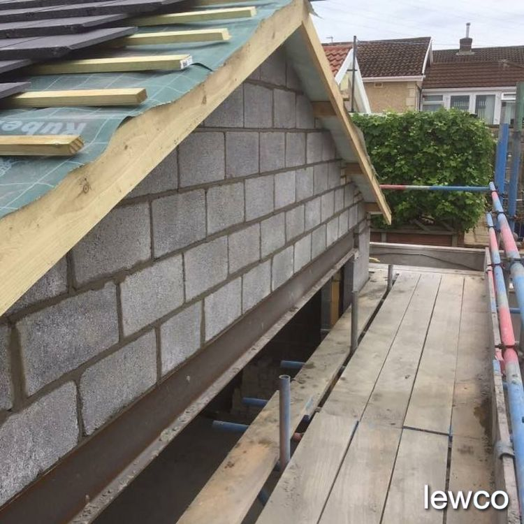 New build gable end